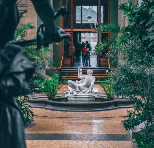 The exotic Winter Garden in the Ny Carlsberg Glyptotek Museum, Copenhagen