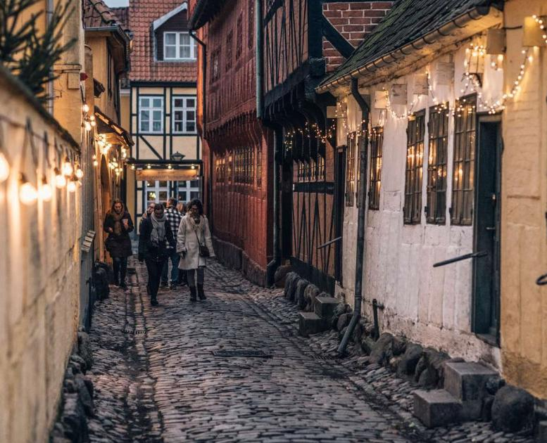 Christmas in Odense's old quarter