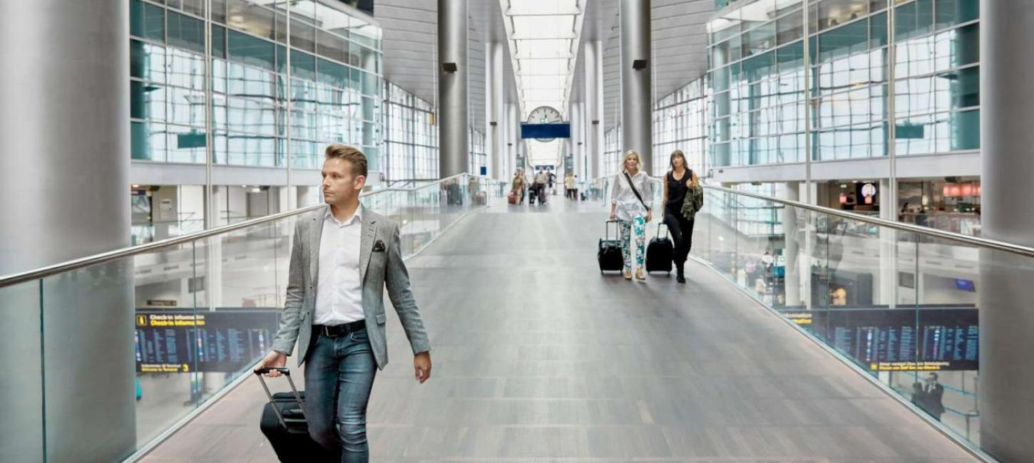 It's easy to get to and from Copenhagen Airport with public transport