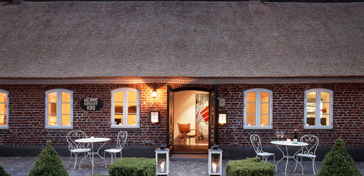 Michelin restaurant Henne Kirkeby Kro in West Jutland